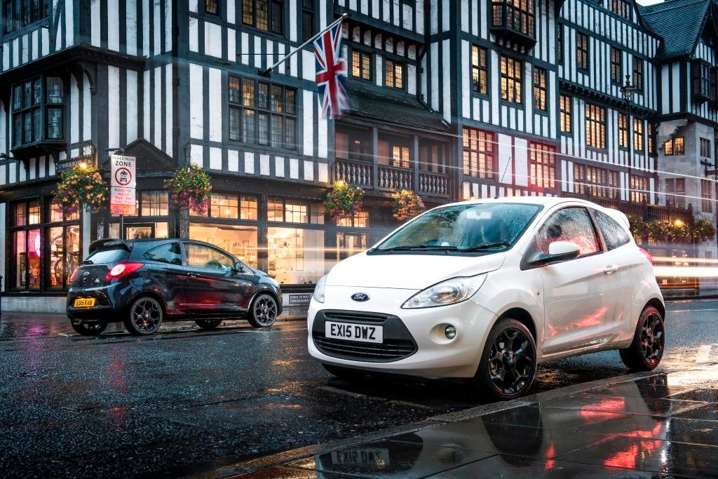 2. Marmalade Insurance Ford Ka Zetec Black White Editions