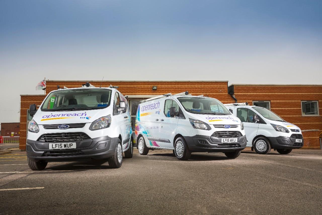BT Calls Ford for 1,000 New Vans including Transit Custom, Transit and Fiesta Van-3