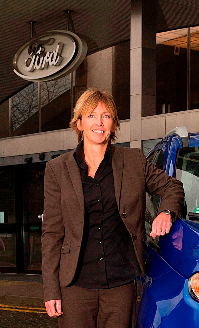 Charlotte Ward, Ford of Britain Corporate Affairs News Manager
