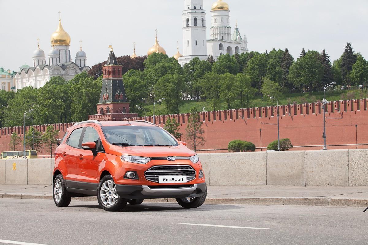 EcoSport Moscow Kremlin