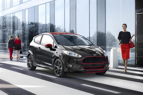 One litre EcoBoost powers Fiesta Black Edition