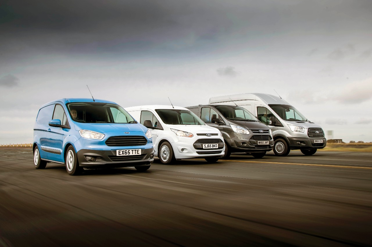 Ford commercial vehicles have been the UK's favourite for 50 years