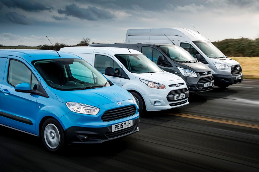 Ford CV sales were an all-time monthly record in March