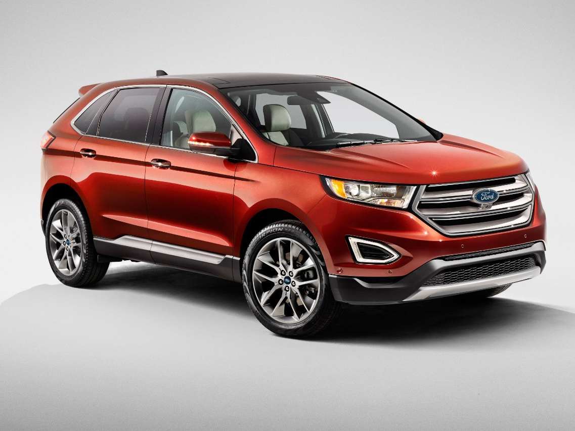 The 2015 European Ford Edge