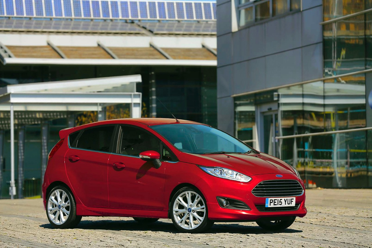 Ford Fiesta Candy Red