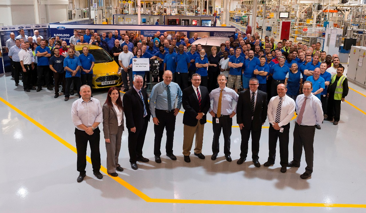 Ford has produced the three-millionth small-capacity Dagenham diesel engine
