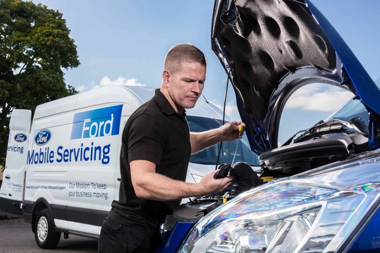 Ford Mobile Servicing now covers Greater London