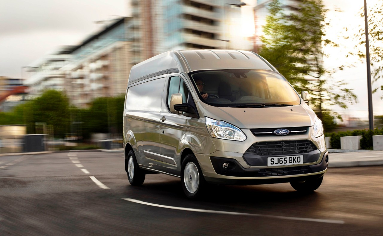 Ford Transit Custom is the UK CV top seller
