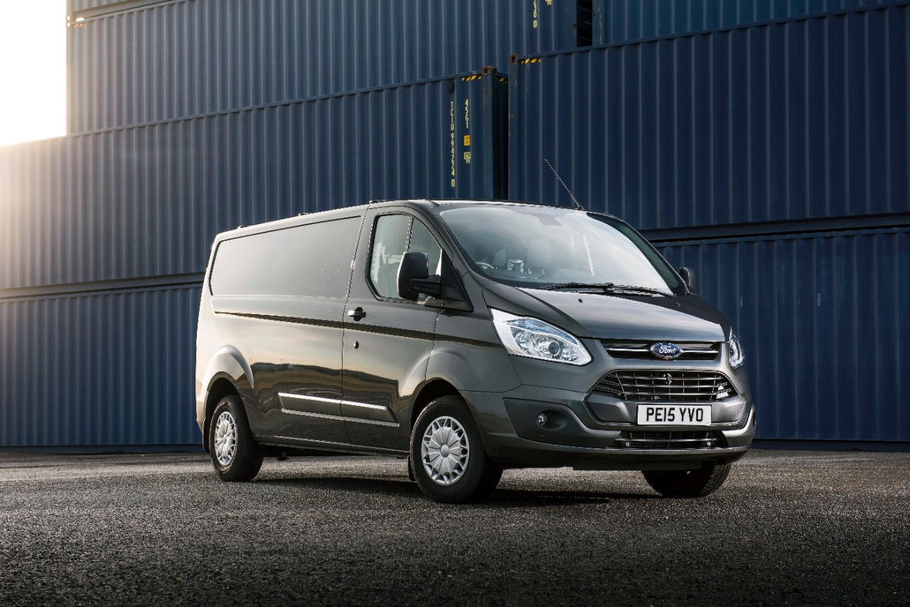 Ford Transit Custom was named Most Popular Van