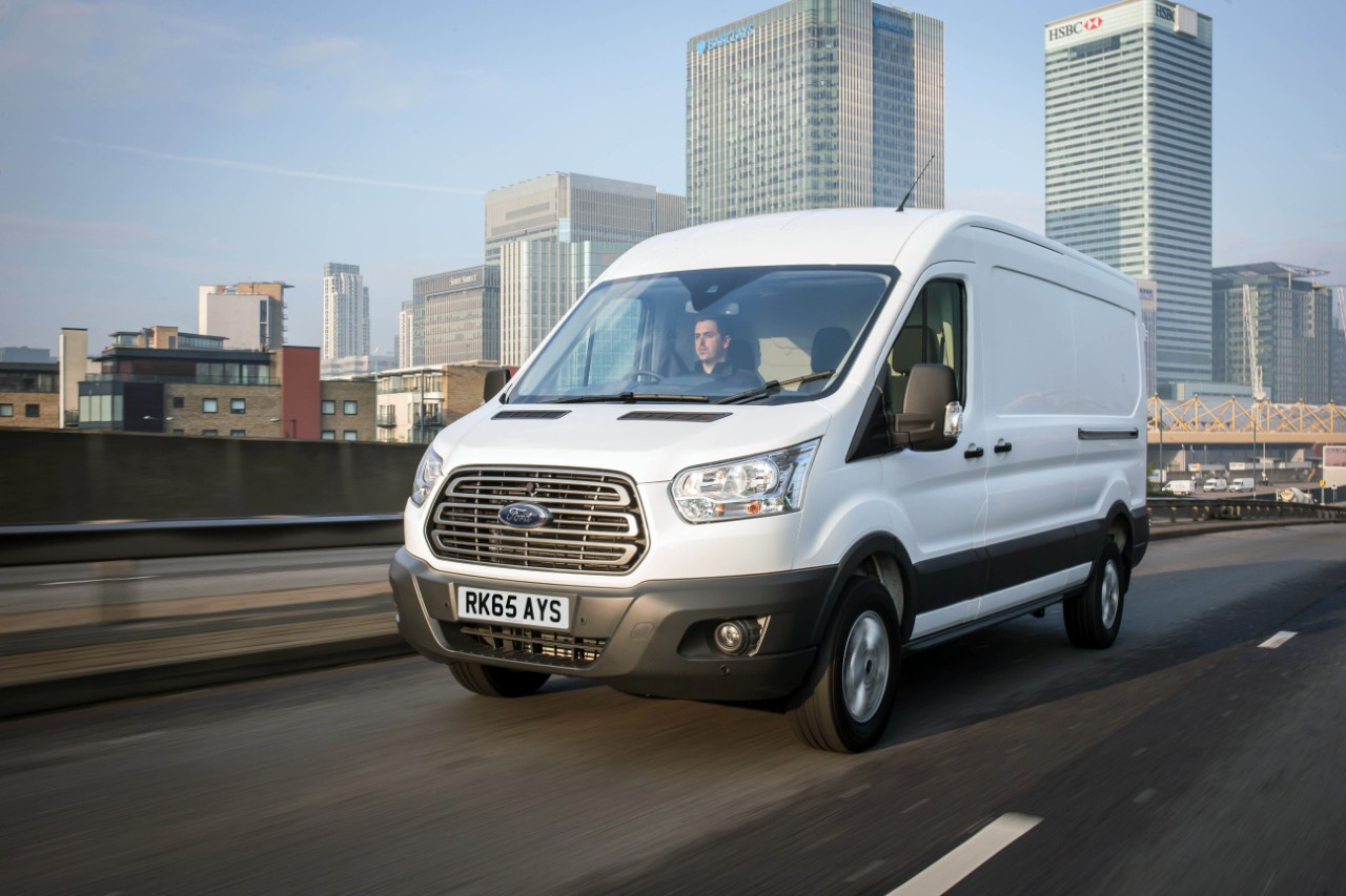 Ford Transit has led the UK CV sector from its launch in 1965