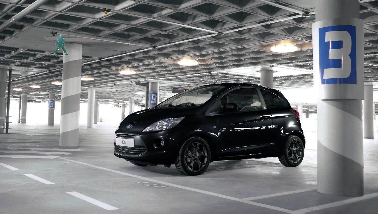 New Ford Ka Midnight Black