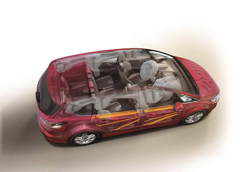 All-New Ford S-MAX and Galaxy Achieve Maximum 5-Star Euro NCAP S