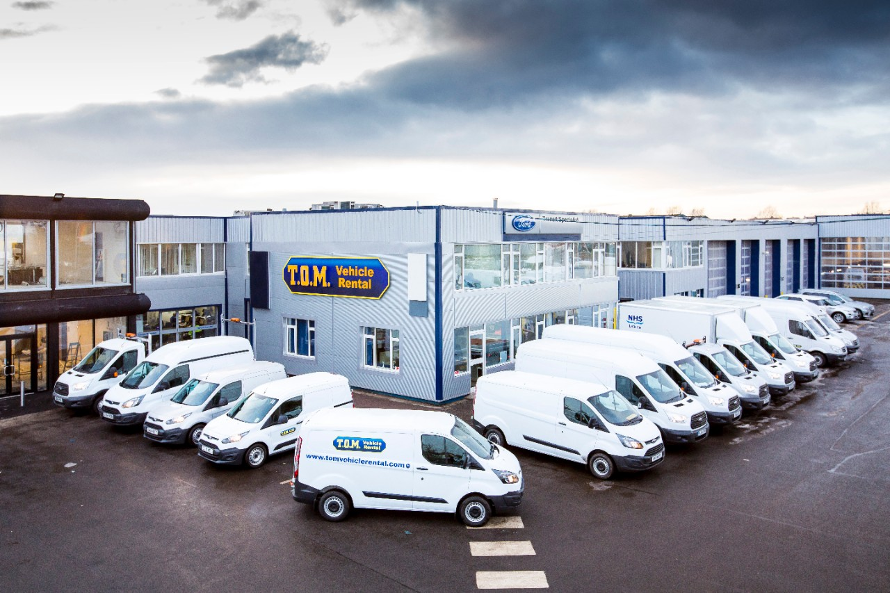 T.O.M rental company takes delivery of 333 new Ford Transit models 003