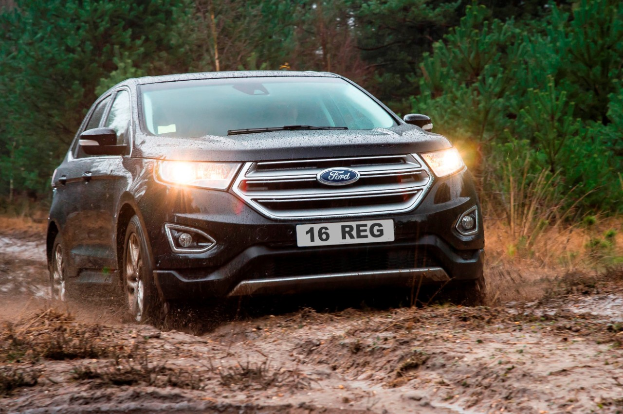 The all-new Edge is well-equipped, offering Ford intelligent all-wheel drive as standard