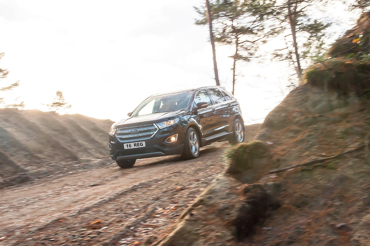 The all-new upscale Ford Edge enters the UK-s surging SUV market priced from £29,995