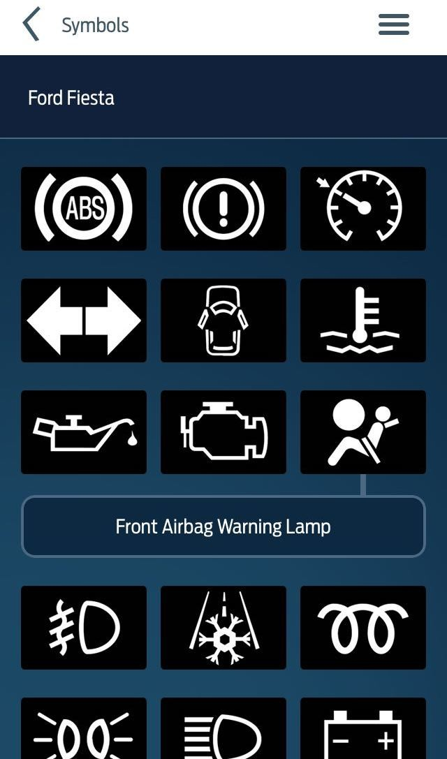 Dash Warning Symbols Free Download Oasis Dl
