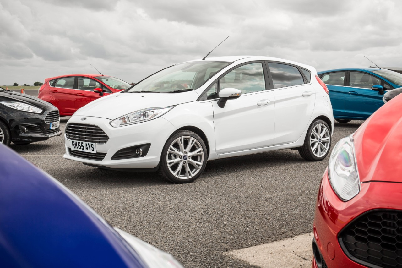 The Ford Fiesta is the UK's top-seller for October