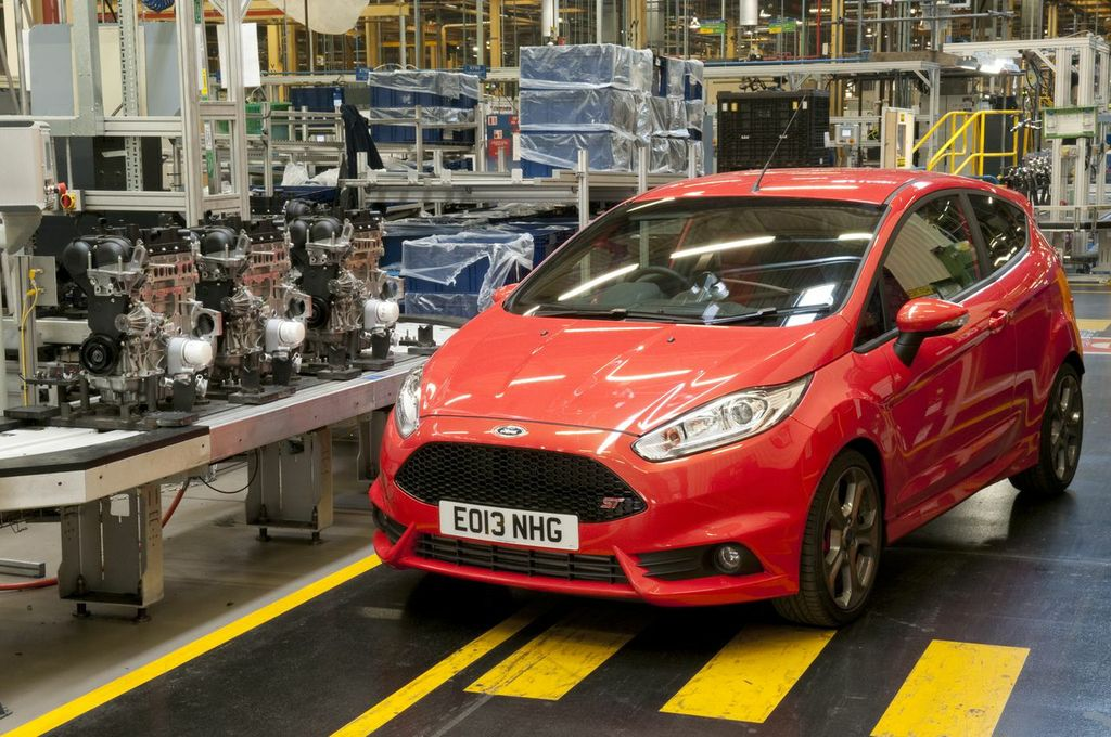 The Ford Fiesta ST is powered by the 1.6-litre EcoBoost engine b