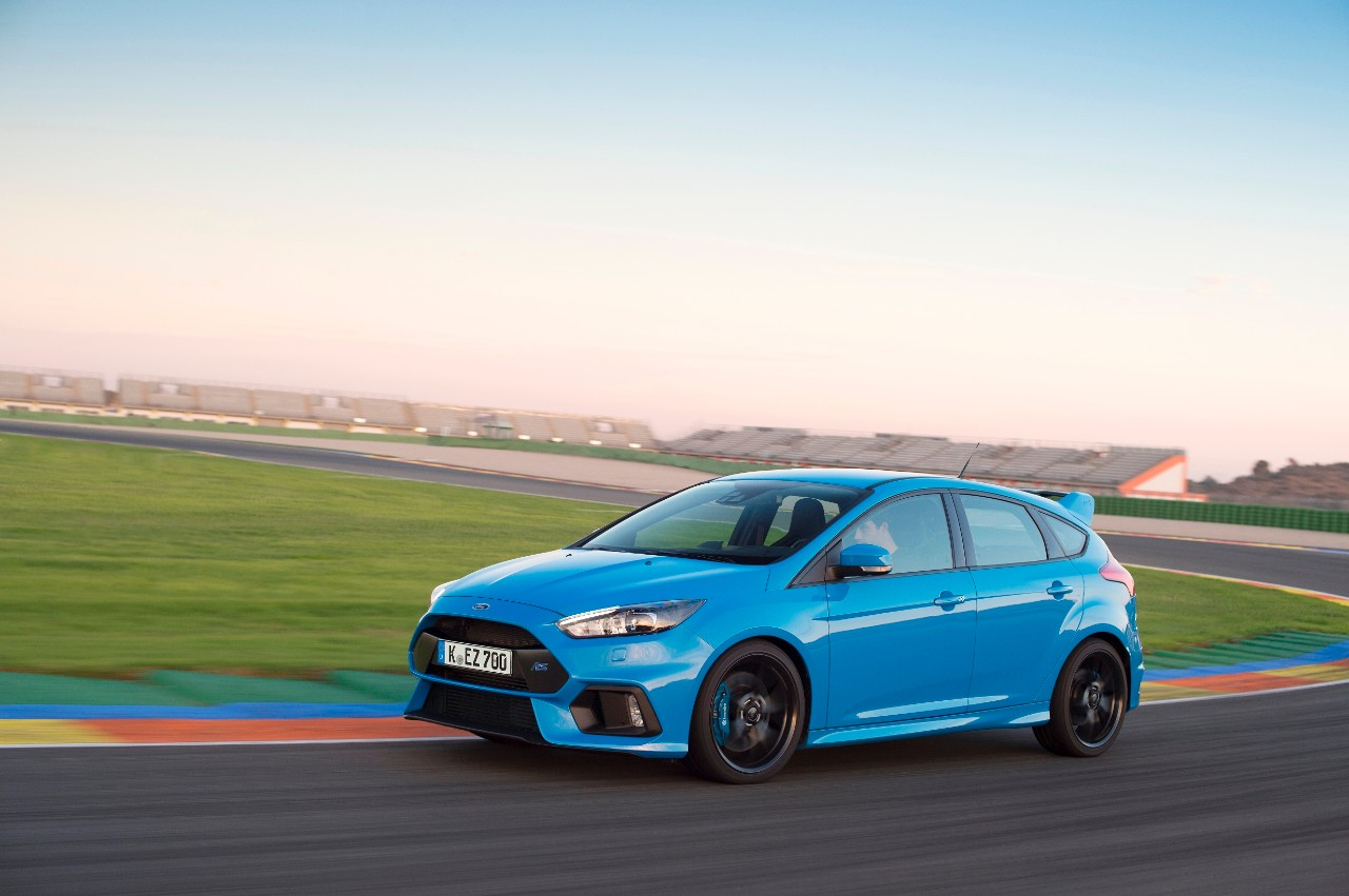Third-generation Focus RS pioneers innovative Ford Performance All Wheel Drive