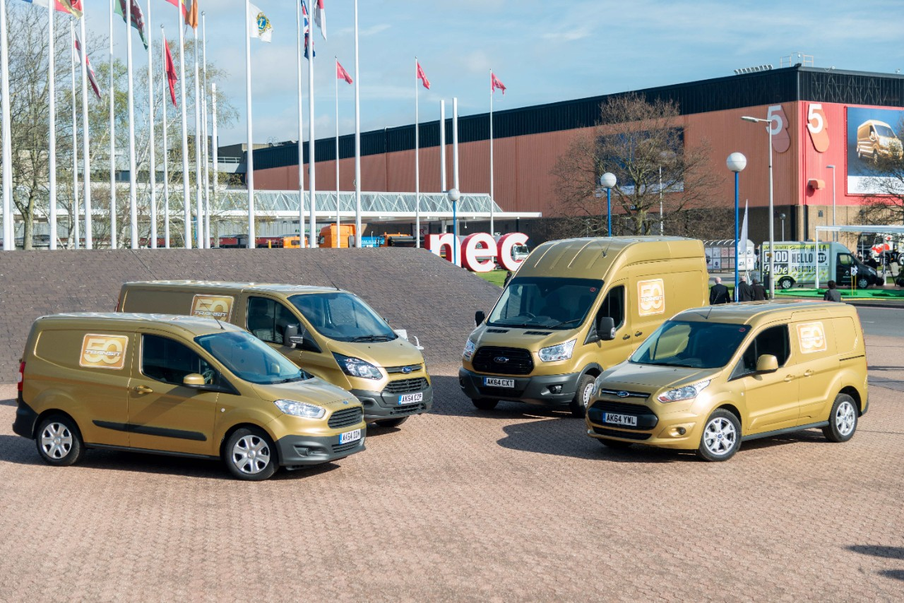 This year marks 50 years since the first Transit rolled off the production line