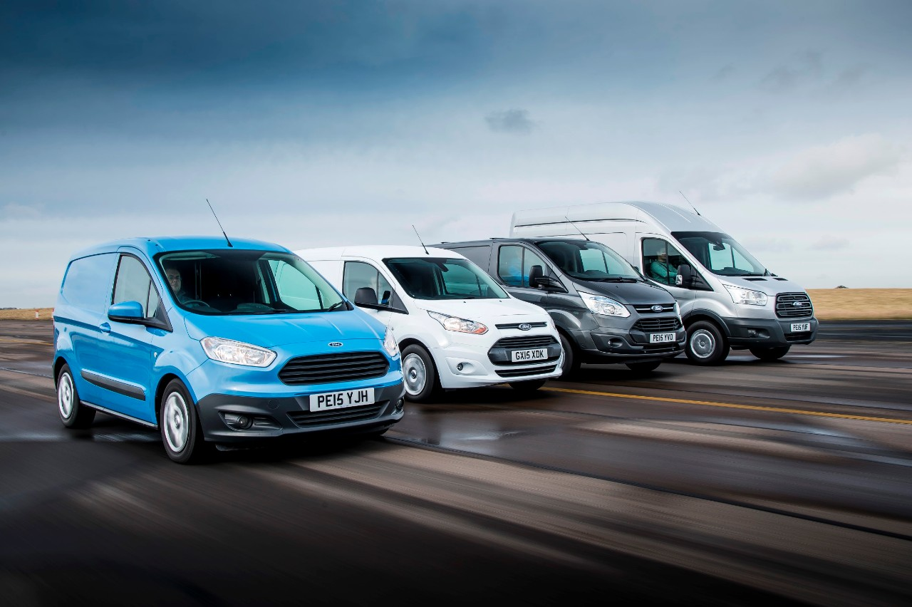 Transit nameplate sales place the brand second in total UK vehicle sales in February